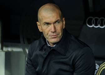 Zidane sad after Copa del Rey loss to Real Sociedad