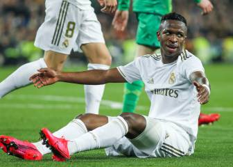 Vinicius responds to PSG rumours