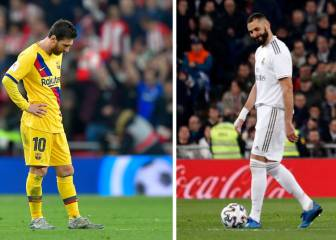 Madrid and Barça fail to make Copa semis for 1st time in 10 years