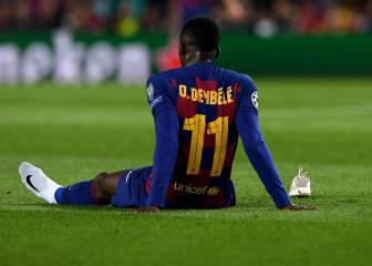 Barça's Dembélé off to Finland for operation