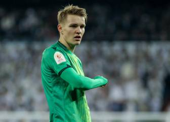 No chance of early Odegaard Madrid return - La Real chief