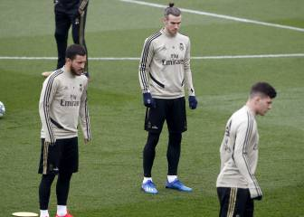 Hazard left out again as Bale returns to Real Madrid squad