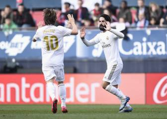 Real Madrid ratings: Bale rusty, Isco and Modric shine