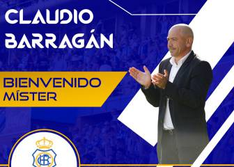 Claudio Barragán, nuevo entrenador del Recreativo