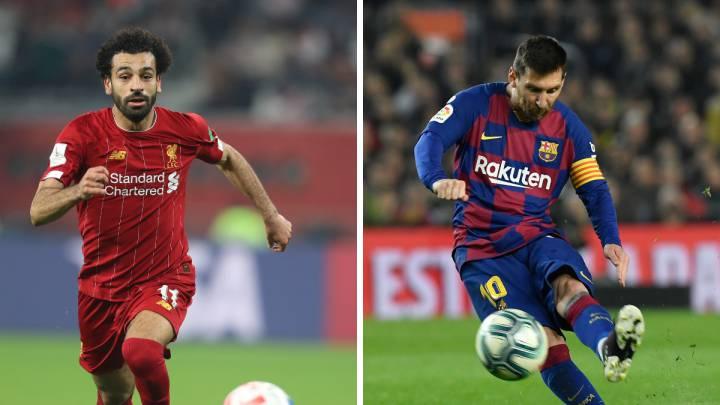 Salah supera a Messi