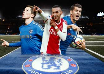 Ziyech takes his place in Chelsea's top 15 most expensive players
