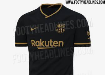 Barça set to opt for black and gold for 2020/21 away kit