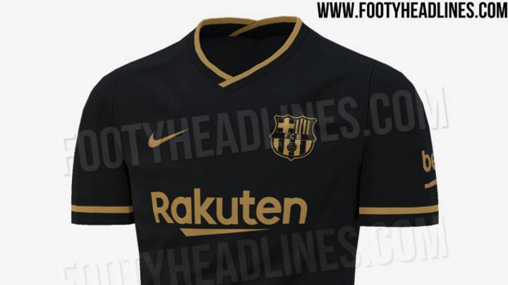 Barca Set To Opt For Black And Gold For 2020 21 Away Kit As Com
