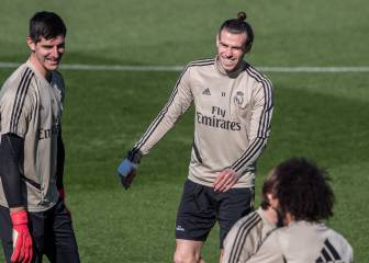 Zinedine Zidane leaves Bale out of squad for Levante