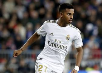 Rodrygo to drop down to Castilla