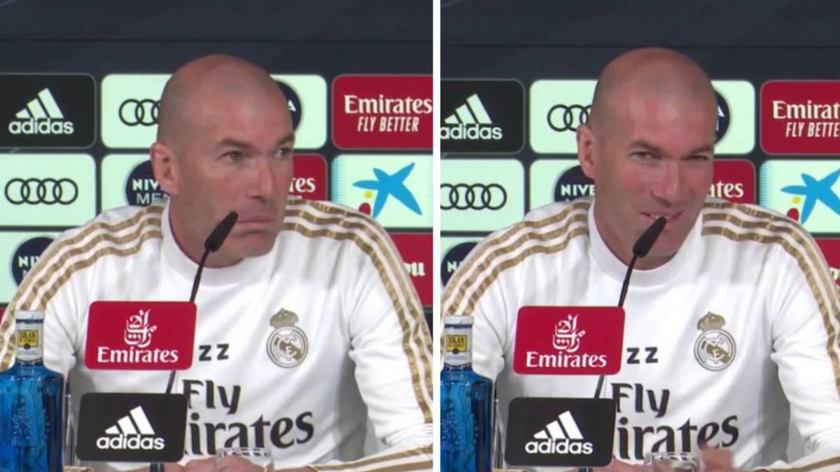 La broma de Zidane sobre su suplencia cuando era jugador que desató carcajadas en la sala