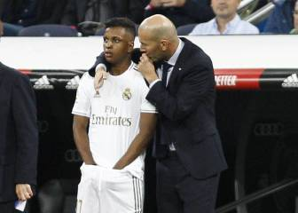 Zidane holds meeting with Rodrygo