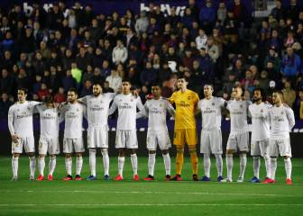 Real Madrid player ratings after defeat to Levante