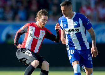 1x1 del Athletic: Muniain destacó en Mendizorroza