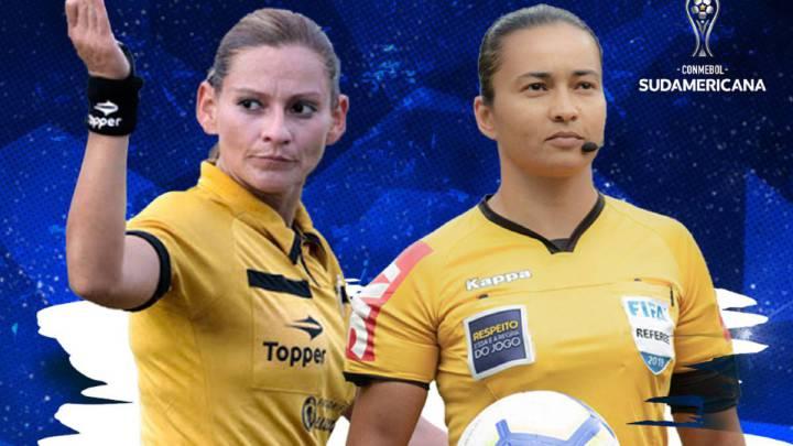 Habrá dos mujeres árbitras en la vuelta de Copa Sudamericana