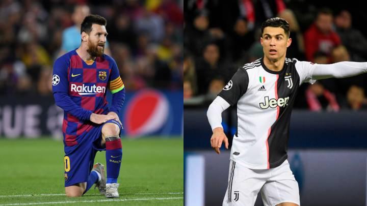 Cristiano Ronaldo y Messi, los reyes de los octavos de la Champions