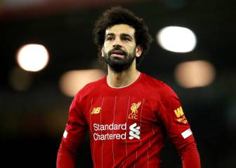 Salah using Liverpool as