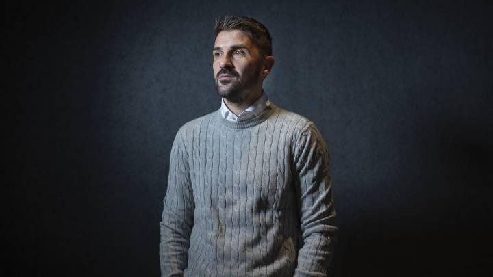 El exdelantero asturiano, David Villa.