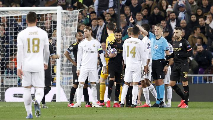 Real Madrid to appeal Sergio Ramos' red card against Manchester City