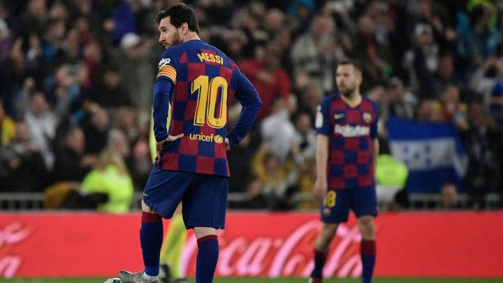 """Barcelona dressing room """"fucked up"""" after Clásico defeat - AS.com"""