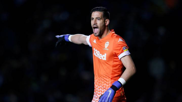 "Soccer Football - Championship - Leeds United v West Bromwich Albion - Elland Road, Leeds, Britain - October 1, 2019  Leeds United's Kiko Casilla reacts  Action Images/Ed Sykes  EDITORIAL USE ONLY. No use with unauthorized audio, video, data, fixture lists, club/league logos or ""live"" services. Online in-match use limited to 75 images, no video emulation. No use in betting, games or single club/league/player publications.  Please contact your account representative for further details."