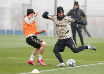 Isco returns to Madrid training after missing Wednesday