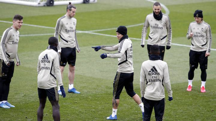 Luka Modric regresa a la titularidad
