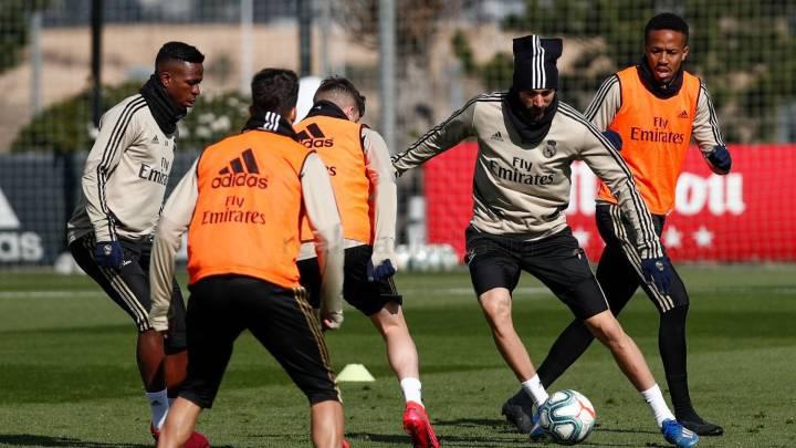 El Real Madrid se prepara para defender el liderato