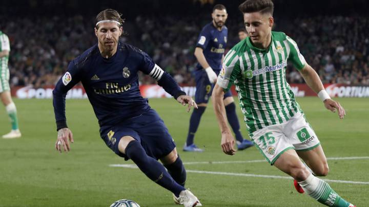 Sergio Ramos on Real Madrid's defeat to Betis
