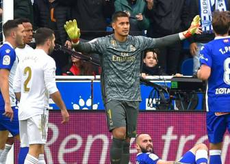 Alphonse Areola tasked with saving Real Madrid's season