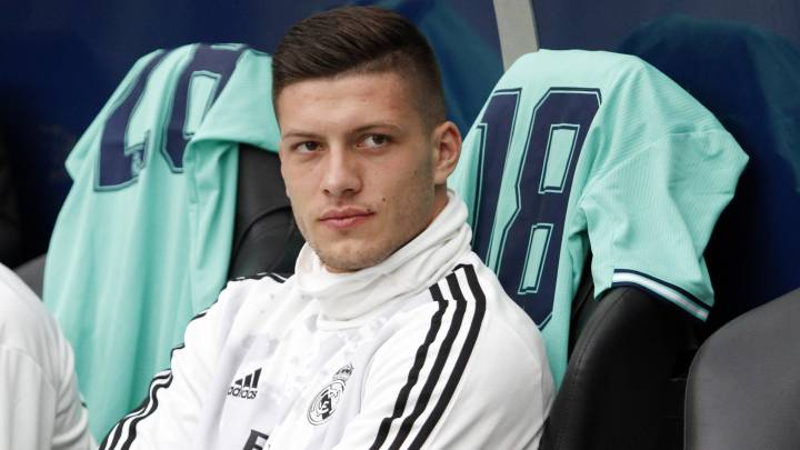 "Coronaviru: Luka Jovic: ""I used the same facilities as Thompkins but I don't have any symptoms..."""