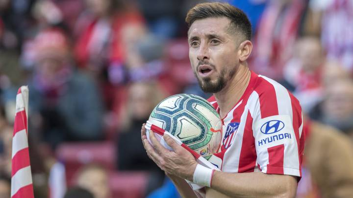 Héctor Herrera falls off the map at Atlético Madrid