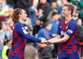 Only Griezmann and De Jong have remained injury-free