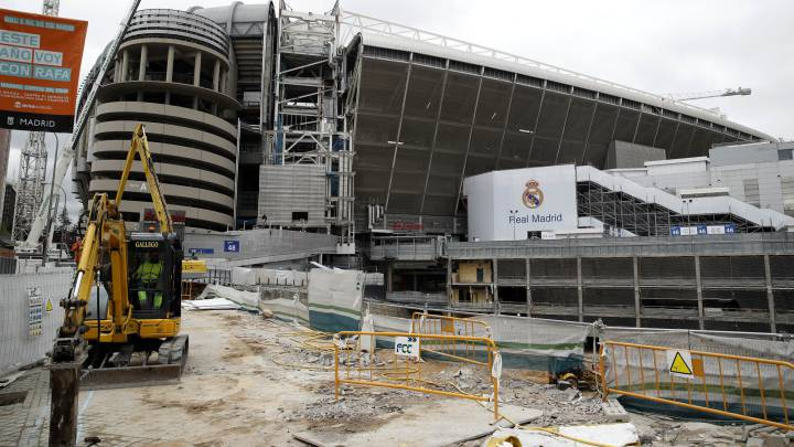Real Madrid: Work on new Bernabéu continues in spite of coronavirus
