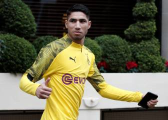 Real Madrid's Achraf doubts