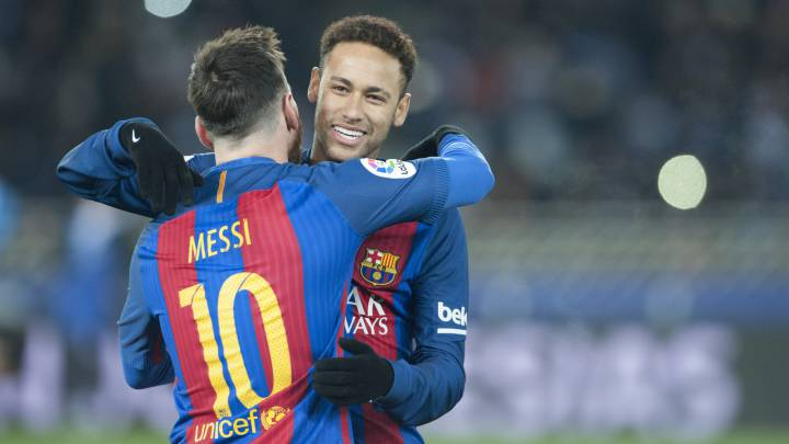 Barcelona: Neymar wants Messi reunion and will pressure PSG