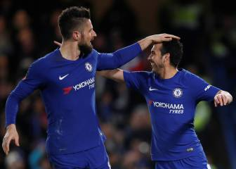 Lazio set sights on Chelsea's free agents Pedro and Giroud