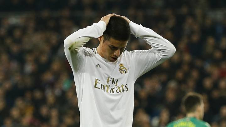 James on the way out of Real Madrid