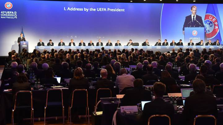 UEFA suspends Champions League 'until further notice'