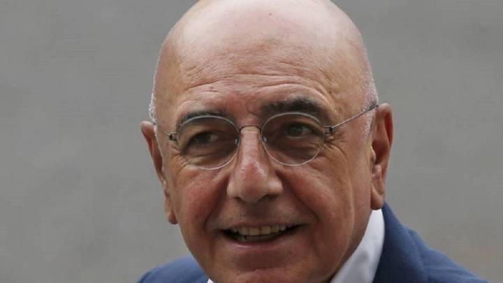 El expresidente del Milán, Adriano Galliani.