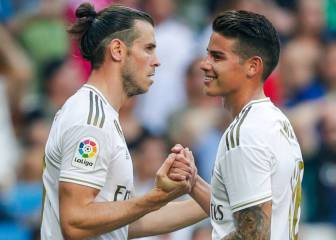 Bale and James: Zidane's transfer chalk and cheese
