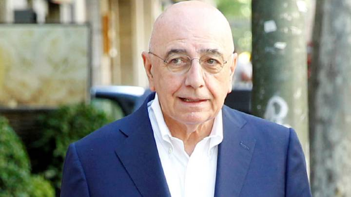 Galliani posa para AS en una pasada visita a Madrid.