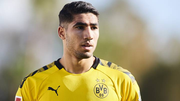Dortmund want Real Madrid loanee Achraf to stay