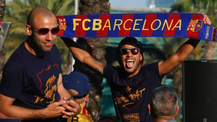 "Mascherano: ""I hope Neymar goes back to Barcelona"""