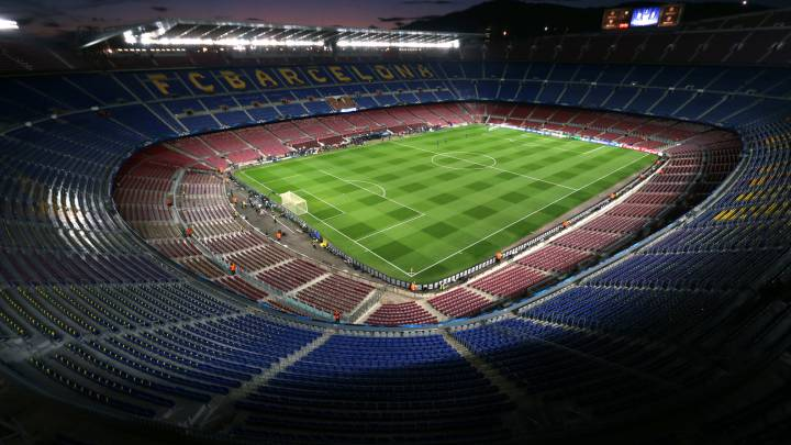 Coronavirus: Barcelona looking at empty Camp Nou until 2021