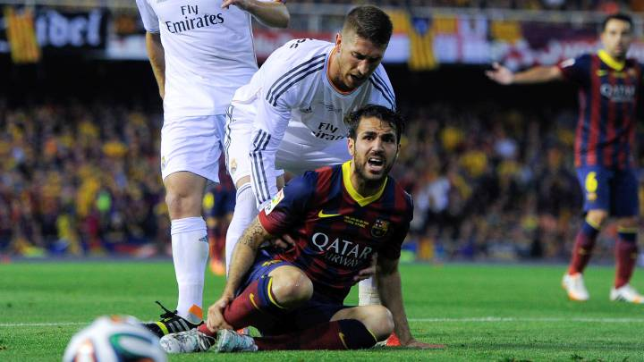 Cesc Fábregas talks of the many chances to join Real Madrid