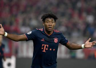 Zinedine Zidane to make a push for David Alaba
