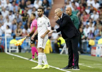Carvajal: no challengers to Real Madrid right back's mantle