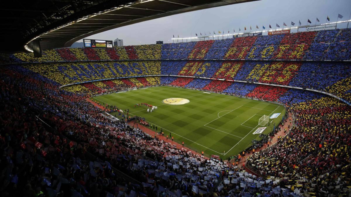 Barcelona | La prueba piloto del 'naming rights' en el Camp Nou - AS.com
