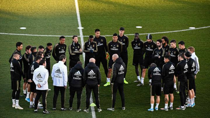 Anxiety within Madrid squad at return to activity without vaccine